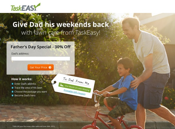 TaskEasy Father's Day