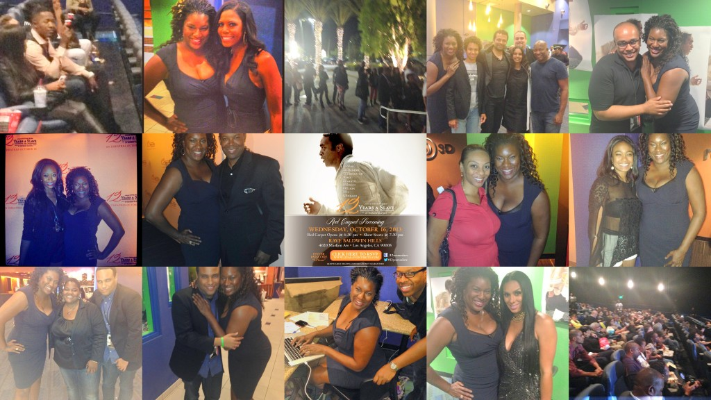 12 Years A Slave Screening Collage