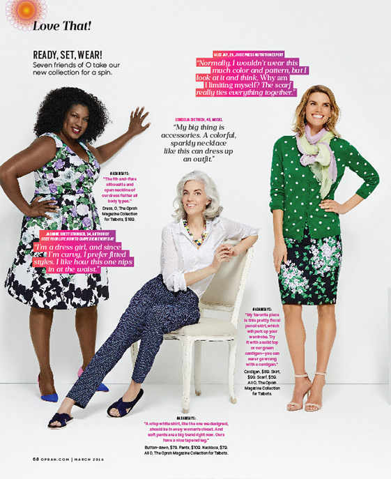 As Seen in March 2016 Edition of O Magazine