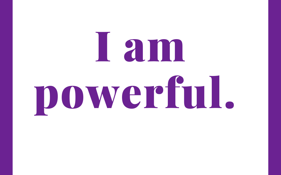 Weekly Affirmation for the Week of January 25, 2021